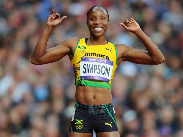 Sherone Simpson: 18-month ban
