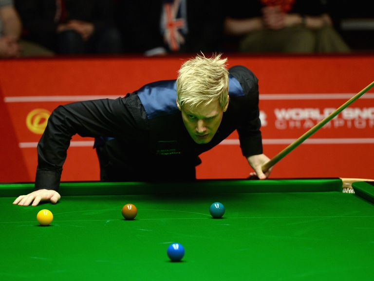 Neil Robertson: Into the quarters
