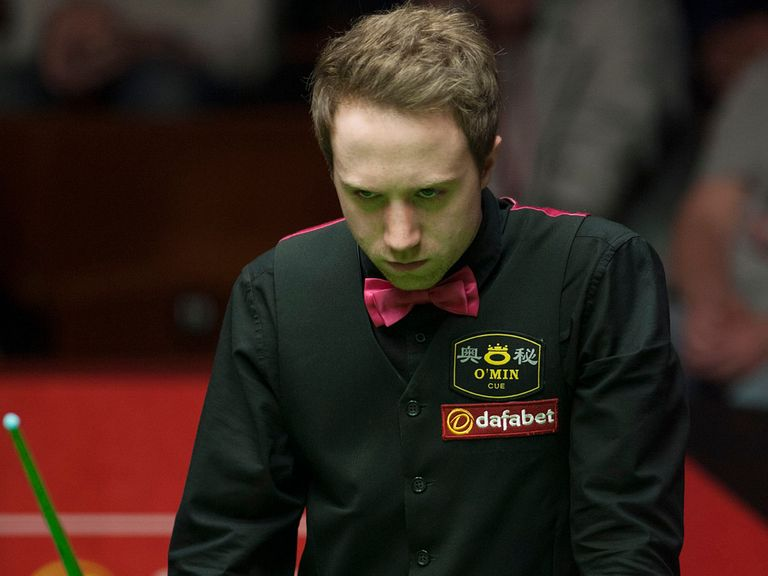 Michael Wasley knocked out the number two seed Ding Junhui