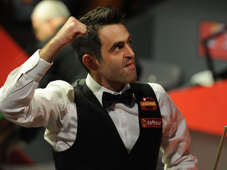 Ronnie O'Sullivan: Is expected to brush aside Barry Hawkins