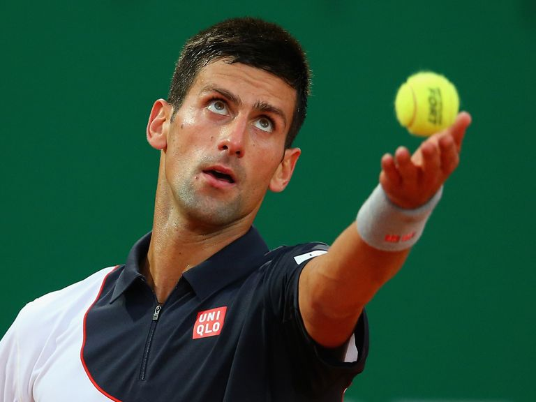 Novak Djokovic took three sets to see off his rival