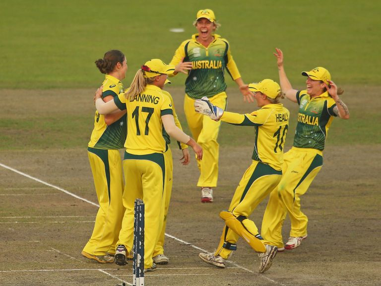 Australia's women are just one win away from glory