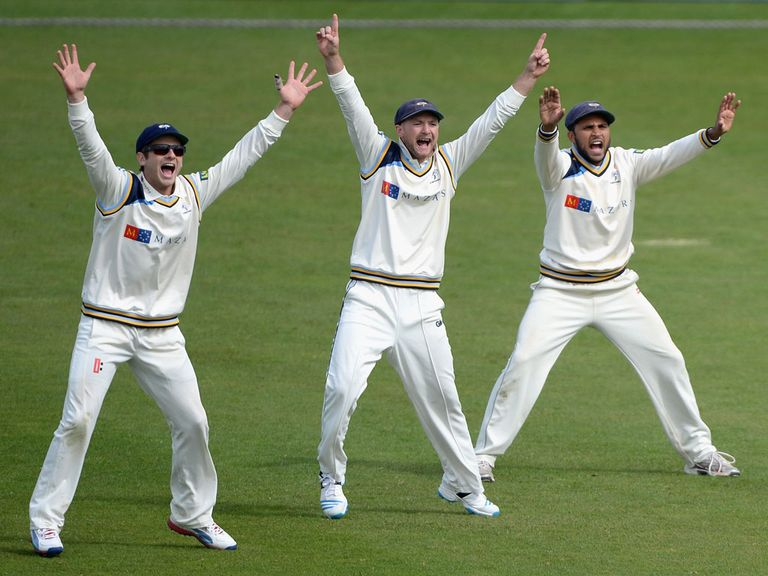 Yorkshire were the only winners in the latest round of games