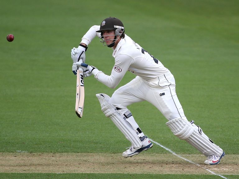 Zafar Ansari: Injured while fielding at The Oval