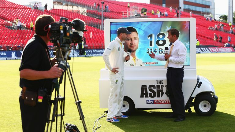 The Day 5 coverage of the first Ashes test was recognised by Bafta