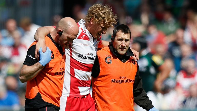 Twelvetrees: Rated doubtful for England's New Zealand tour due to injury