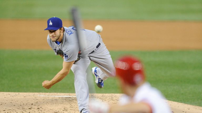 Clayton Kershaw: Helped the Dodgers claimed a 8-3 win over Washington on Tuesday