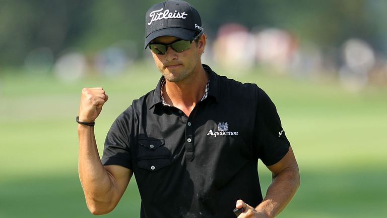 Adam Scott: Keen to remain at the top of the world rankings