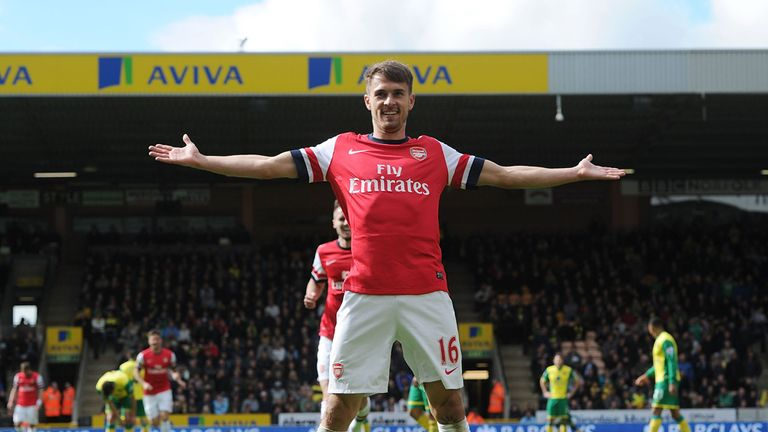 Aaron Ramsey: Looking to end the season on a high