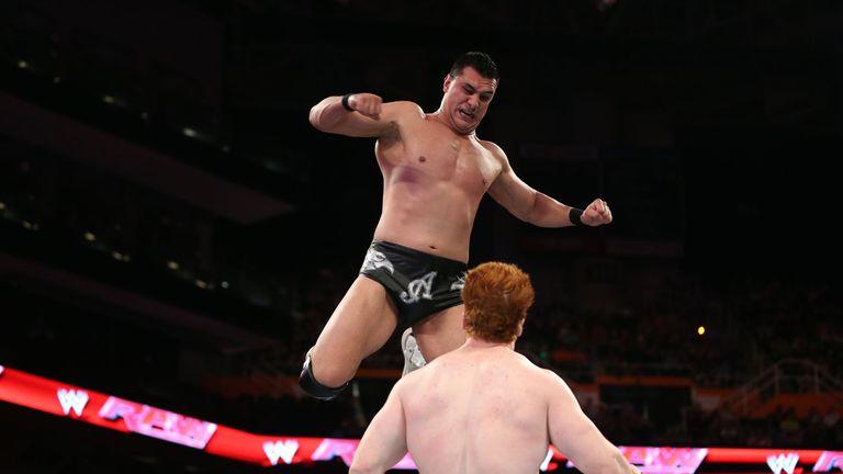 Alberto Del Rio and Sheamus got physical on Main Event