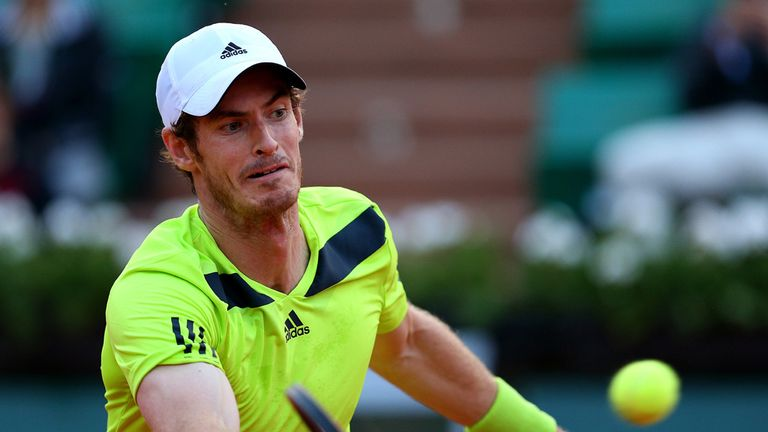 Andy Murray: Plays in the third match on Court Suzanne Lenglen