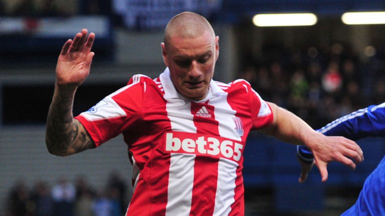 Andy Wilkinson: Made his first-team debut for Stoke back in 2001