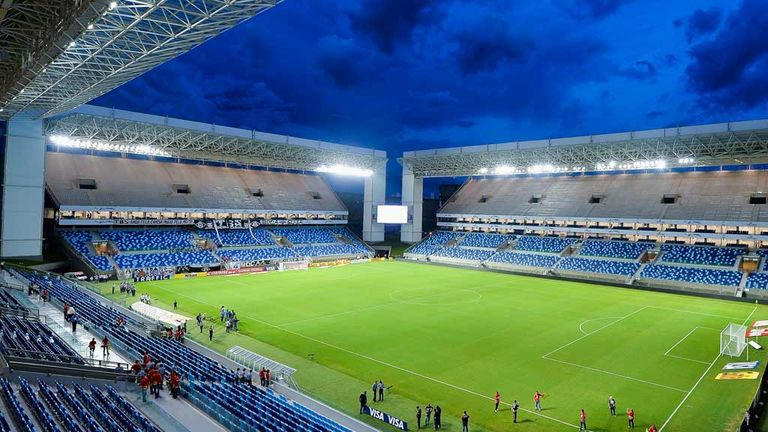 Arena Pantanal: World Cup stadium close to completion