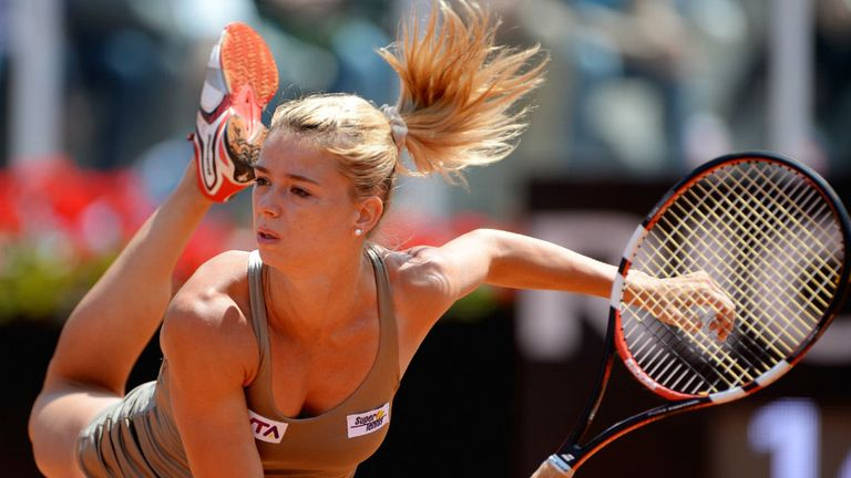 Camila Giorgi: The Italian upset Dominika Cibulkova to reach the second round
