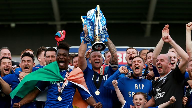 League Two champions Chesterfield will adapt well to their new division