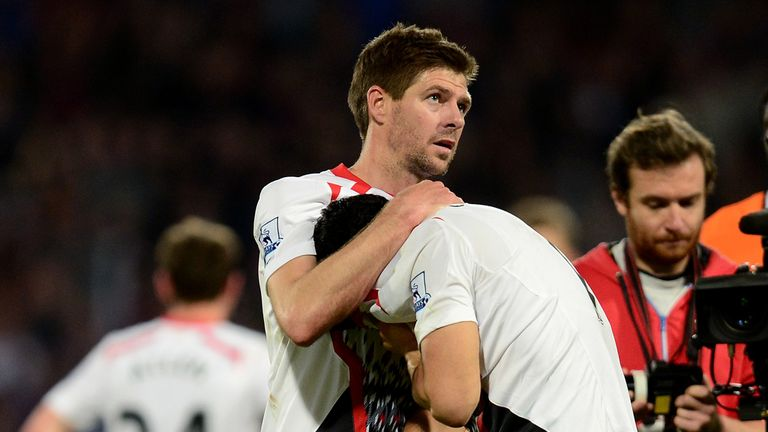 Steven Gerrard: Mocked by Tottenham Twitter account