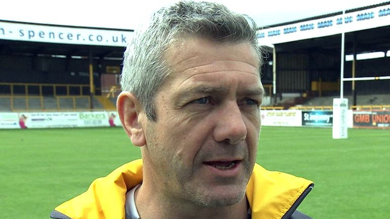 Daryl Powell: The Castleford coach won the Challenge Cup as a player with Leeds