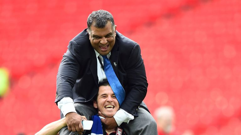 Tony Fernandes: Thrilled to see QPR reach the Premier League