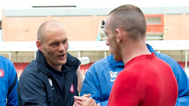 Alex Neil (left): Warns against complacency