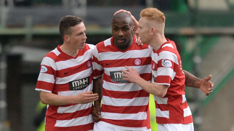 Jason Scotland: Helped Hamilton to promotion