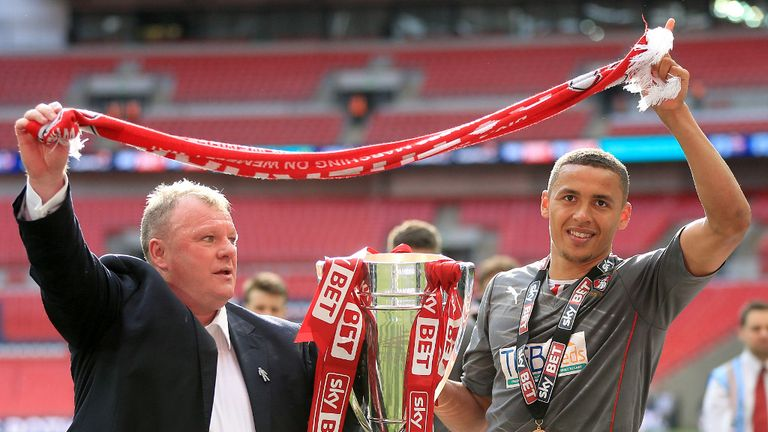 Steve Evans: Guided Rotherham into the Championship