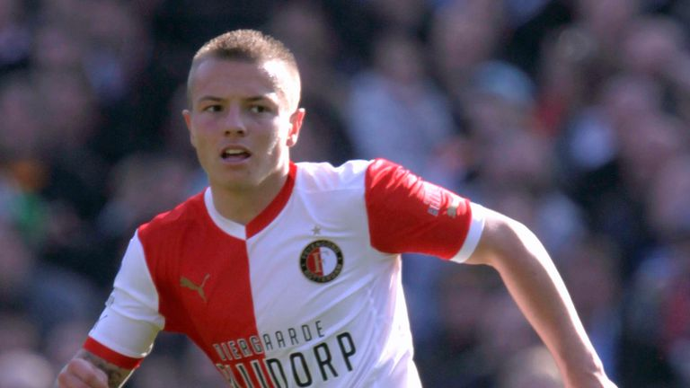 Jordy Clasie: Just one of a host of talented youngsters at Feyenoord