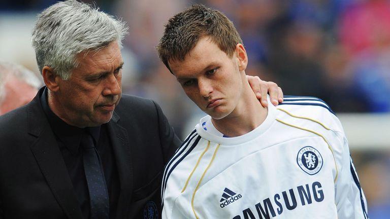 Josh McEachran: With ex-Chelsea manager Carlo Ancelotti