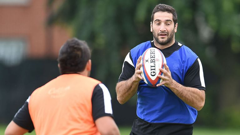 Juan Manuel Leguizamon will captain the Barbarians at the weekend