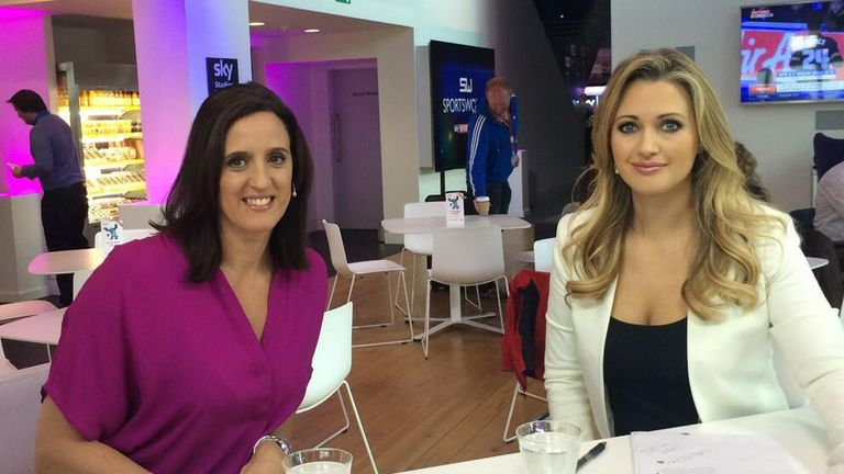 Karen Pickering discussed a wide range of issues on Sportswomen this week