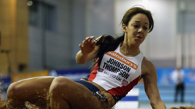 Katarina Johnson-Thompson: Backed for Commonwealth glory
