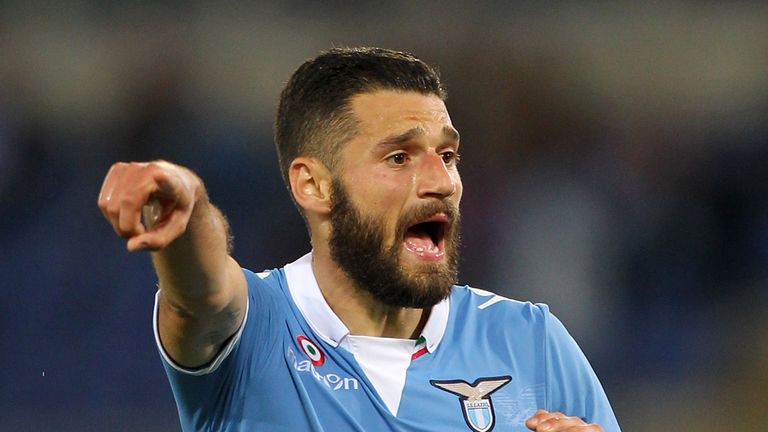 Antonio Candreva: Linked with Juventus, Napoli and PSG