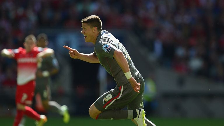 Alex Revell: Thrilled with his goals