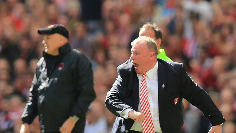 Steve Evans: Overjoyed to see Rotherham promoted to the Championship