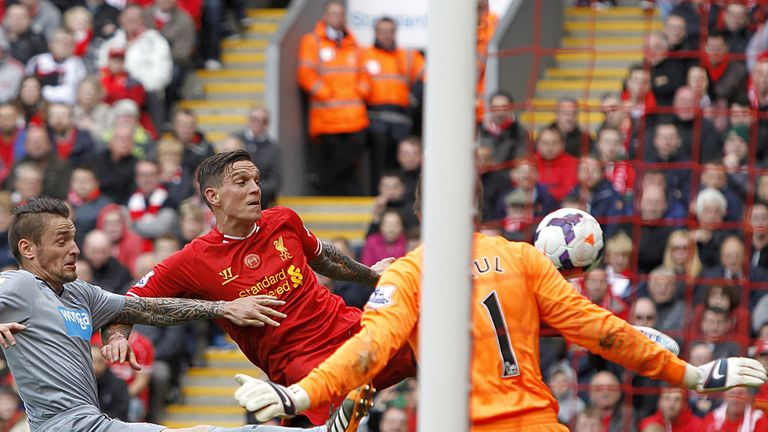 Daniel Agger restored parity to give those present at Anfield at least a glimmer of hope