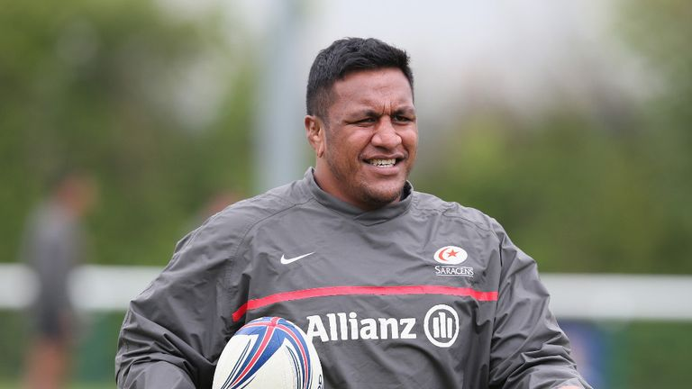 Mako Vunipola: Saracens forward facing scan