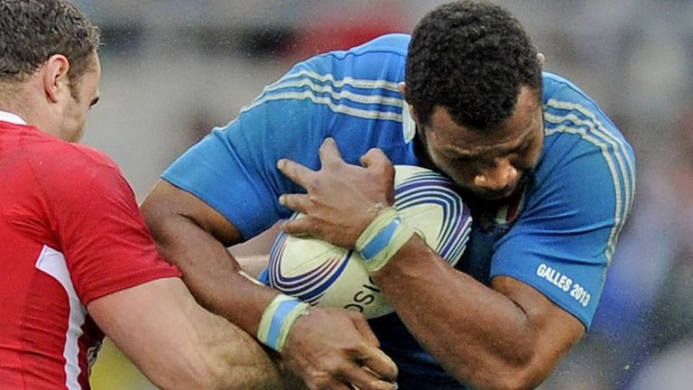 Manoa Vosawai: Italy No 8 will move to Cardiff next season