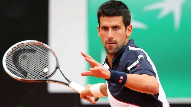 Novak Djokovic: Is confident heading into the French Open