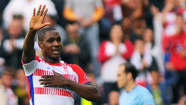 Odion Ighalo: In talks over a move to Watford