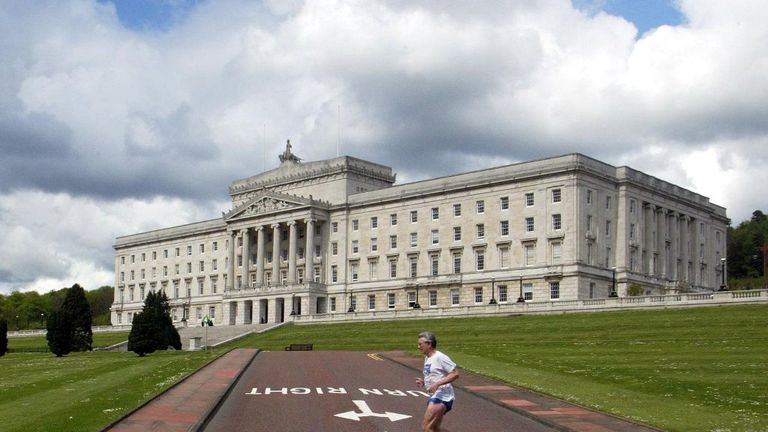 Stormont is a focal point of the opening stage