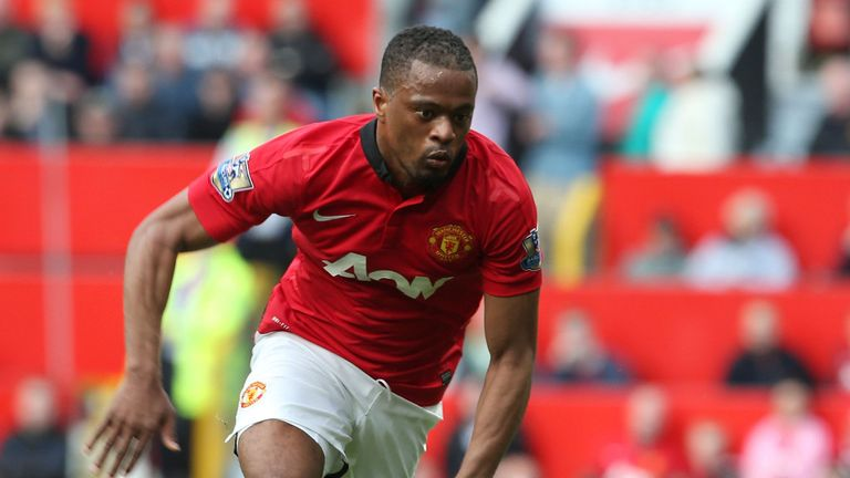 Patrice Evra: Closing on move to Juventus, according to Sky sources