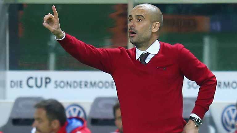 Pep Guardiola: His Bayern side face Wolfsburg in their first Bundesliga match