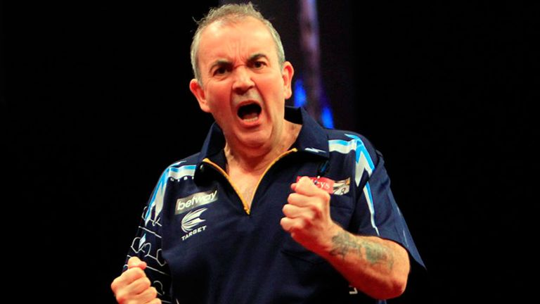 Taylor:14-time Matchplay winner faces Darren Webster