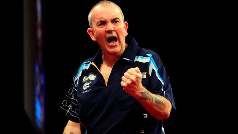 Phil Taylor: Produced a stunning 132 checkout in the 13th leg against Darren Webster