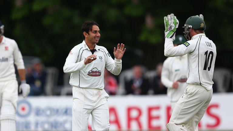 Saeed Ajmal: Took 63 wickets in nine matches for Worcestershire