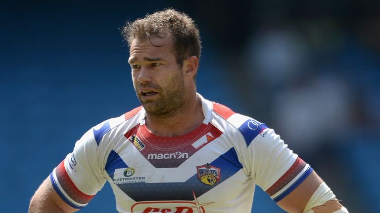 Scott Anderson: Wakefield prop committed to the club until 2016