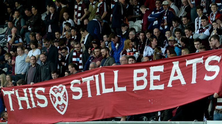Hearts fans: Bid farewell to the Premiership