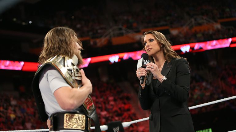 Daniel Bryan was forced to relinquish the WWE World Heavyweight Title on Monday Night Raw