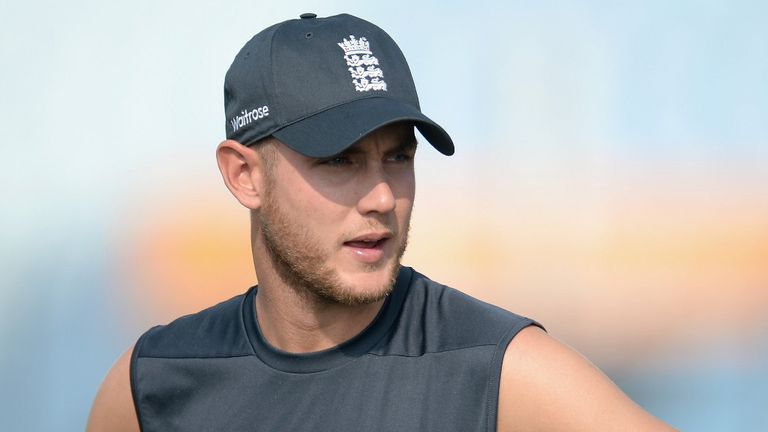 Stuart Broad: Set for first action of the season