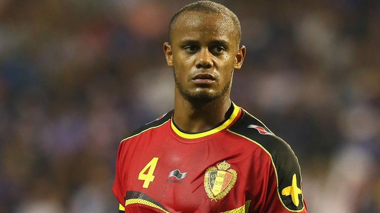 Vincent Kompany: Hopeful that Belgium can challenge for World Cup glory