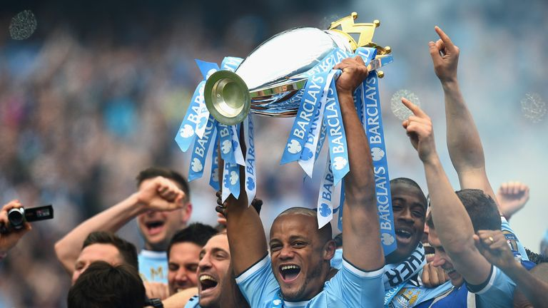 Manchester City: 2013/14 Premier League champions